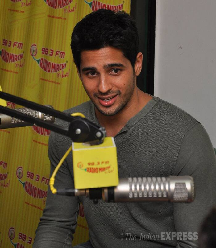 Sidharth Malhotra, who plays the role of Guru in the film, is portrayed differently from his lover-boy image seen in 'Student of the Year' and 'Hasee Toh Phasee'. (Source: Varinder Chawla)