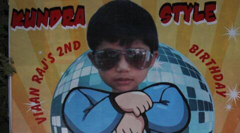 Shilpa celebrated Viaan's birthday 'Kundra Style' inspired by Korean rapper Psy's 'Gangnam Style'.