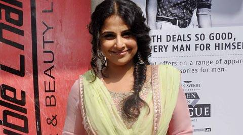 """Dressing up like a man as a disguise was an exciting experience,"" said Vidya Balan."