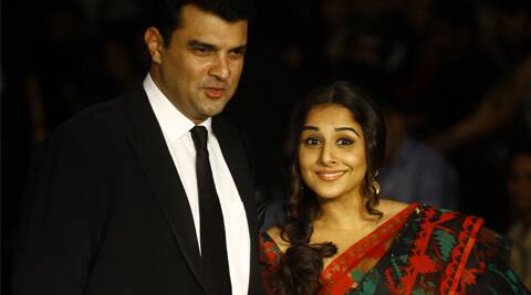 Vidya Balan put an end to the reports saying that all was well between the couple and that they were very happy together.