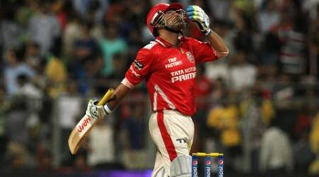 Sehwag said his son (Aryaveer) told him 'Papa, why are you getting out? My friends in school tease me that your papa is not scoring runs'. (Source: BCCI/IPL)