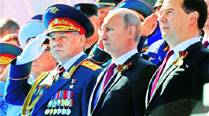 On first Crimea visit, Putin trumpets Russianrevival