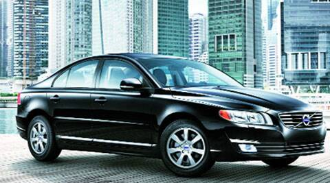 The S80, Volvo's flagship in India, is priced Rs 44.8 lakh.