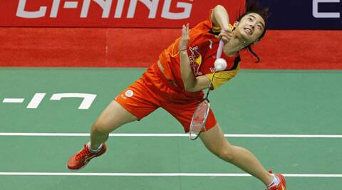 Wang Shixian won her singles match in straight games (Source: Reuters)