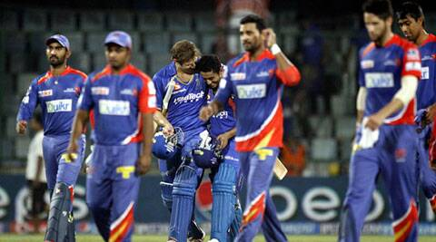 Riding high on opener Karun Nair's brilliant knock at top of the order, Rajasthan Royals beat Delhi Daredevils by seven wickets (IE Photo Praveen Khanna)