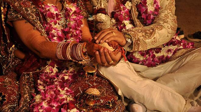 Indian marriages are now made in Mauritius