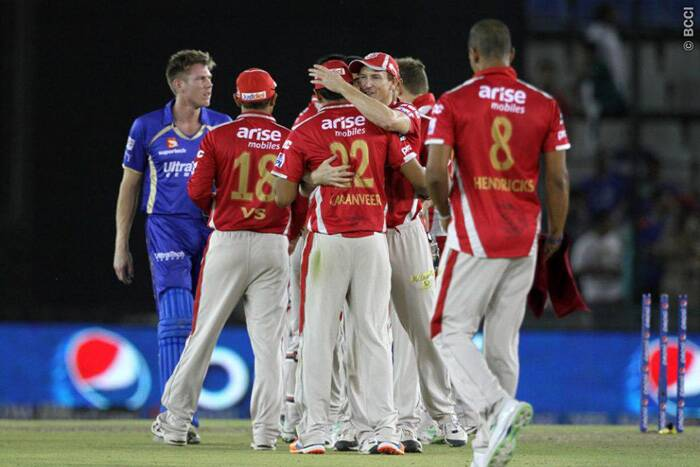 James Faulkner's late burst  went in vain as Rajasthan Royals fell short of 16 runs towards the end. (Source: IPL/BCCI)