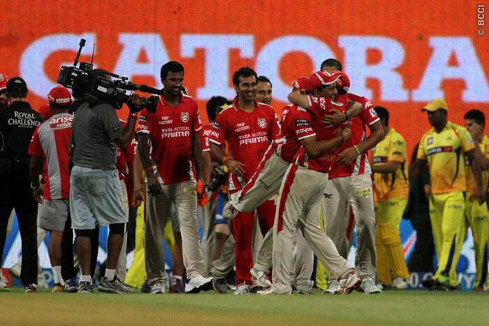 It was a dream-like moment for the Kings XI Punjab, as they defeated five-time finalists Chennai Super Kings by 24 runs to secure their final berth against Kolkata Knight Riders. (Source: IPL/BCCI)
