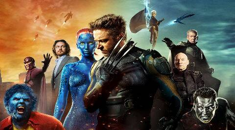 'X-Men: Days of Future Past' is projected to be the fifth best Memorial Day holiday weekend debut in box office history.