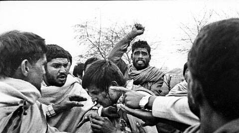 Booth capturer in Meham during the 1990 by-election. Electoral violence is now a thing of the past