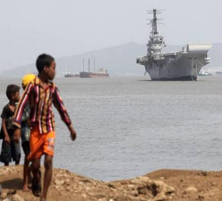decommissioned aircraft carrier museums with Ins Vikrant Moved Out Of Naval Dock on Ins Vikrant Moved Out Of Naval Dock besides United States Navy Aircraft Carriers additionally US CVMuseums additionally Early Spring San Diego moreover US CVMuseums.