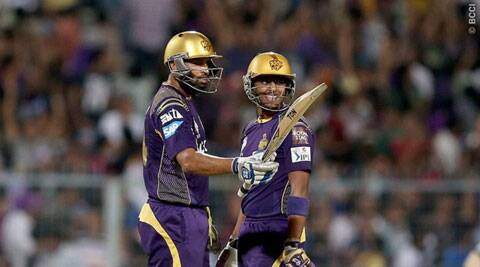 Yusuf Pathan's whirlwind 22-ball 72 ensured Kolkata achieved the 161-run target in just 14.2 overs. ( Source: IPL/BCCI )