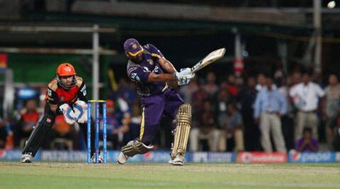 Needing 161 in under 15 overs to book a second spot ahead of the play-offs, Yusuf struck four fours and seven sixes to take the Eden Gardens by storm and put KKR behind KXIP. (Source: IPL/BCCI)
