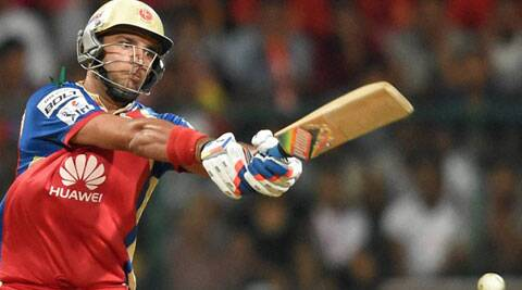 Yuvraj hammered nine sixes in his knock against Delhi Daredevils to set up Royal Challengers Bangalore's win. (PTI)