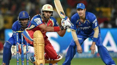 Royal Challengers Bangalore lost their match against Rajasthan Royals despite Yuvraj's whirlwind innings. (PTI)