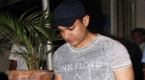 Aamir Khan has been spotted gyming and gaming quite a bit these days.