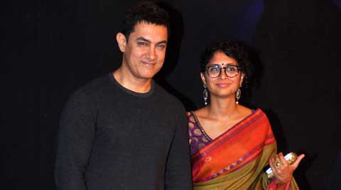 Superstar Aamir Khan, known for shunning award shows, received a packet of sweets instead of a trophy at the Star Parivaar award show for his debut TV venture 'Satyamev Jayate'.