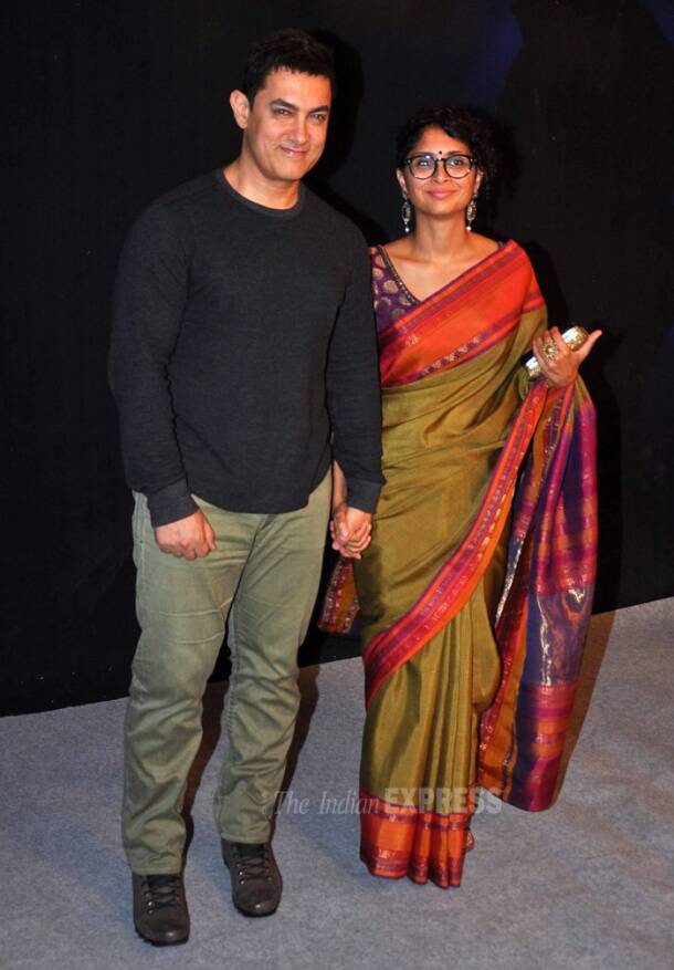 Aamir Khan breaks his own rule, attends Star Parivaar Awards with wife Kiran