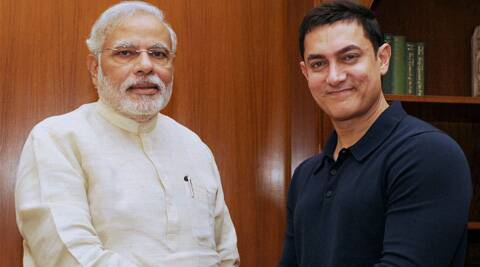 "Aamir Khan tweeted, ""Was very kind of him to spare his valuable time."""