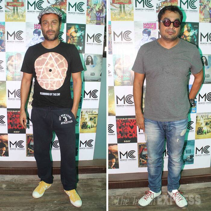 Directors Abhishek Kapoor and Anurag Kashyap also attended the launch. (Source: Varinder Chawla)