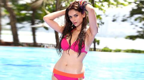 "Aditi Rao Hydari says that she is ""proud"" of her bikini scene in ""Boss""."