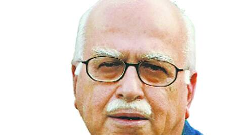 Advising the new MPs to consolidate the trend of minorities voting for BJP, Advani asked them to make the categories of majority and minority completely irrelevant.  Source Express Photo