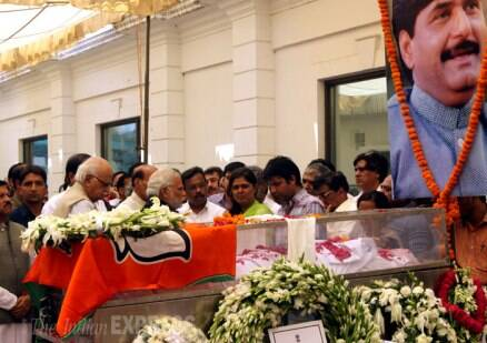 Political leaders pay tribute to Gopinath Munde