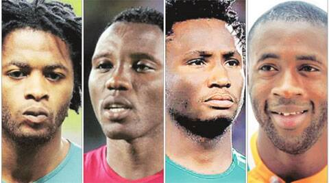(From Left) Song (Cameroon), Asamoah (Ghana), Mikel (Nigeria) and Yaya (Ivory Coast) will look to make a mark.