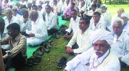 Amul management organised a meeting of farmers from Anand and Kheda districts on Friday. (Express)