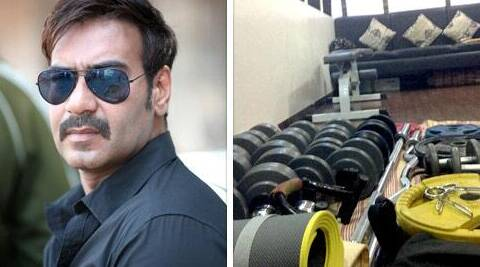 Fitness freak Ajay Devgn certainly knows how to take care of his toned body.