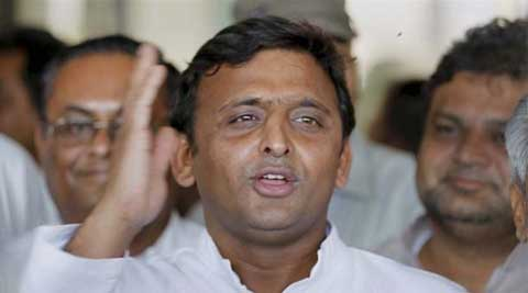 "Akhilesh regretted that several ""love affairs"" were given a ""wrong twist"" by media. (Source: PTI)"