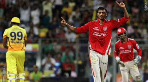 Akshar Patel has also earned a fan-following within the Punjab dug-out for his calm demeanour (Source: BCCI/IPL)