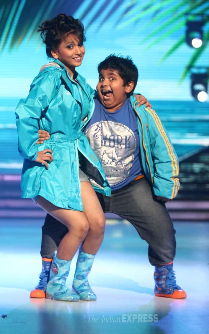 Akshat Singh who appeared on 'The Ellen DeGeneres Show' also showed off her moves'. (Source: Varinder Chawla)