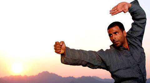 """I do what I believe in. I believe in martial arts hence I promote it,"" Akshay, who learned martial arts in Bangkok, said."