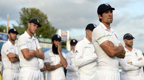 Alastair Cook, who played a major role in England's 4-0 rout of India in 2011, was out of sorts against Sri Lanka (Source: Reuters)