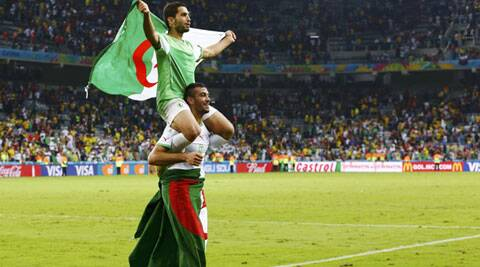 Algeria has qualified for the last 16 for the first time and they will face a quick Ramadan test on Monday against Germany. (Source: Reuters)