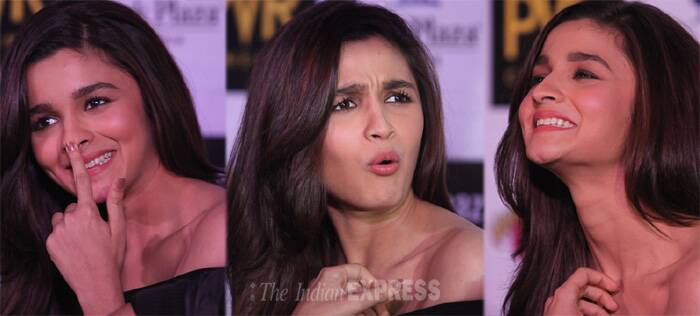 The many moods of Alia Bhatt. (Source: Express Photo by Kamleshwar Singh)