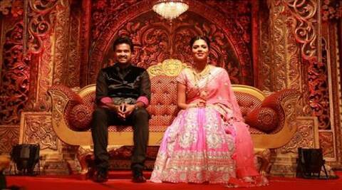"Vijay and Amala fell in love on sets of Tamil film ""Deiva Thirumagal"" and have been dating for nearly three years."