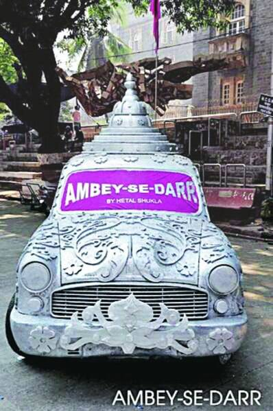 Hetal Shukla has been working on the Ambassador for the last seven years, with installations such as Polar Bear, Ambey-Se-Darr or Make Me Famous at art festivals in and outside the country.