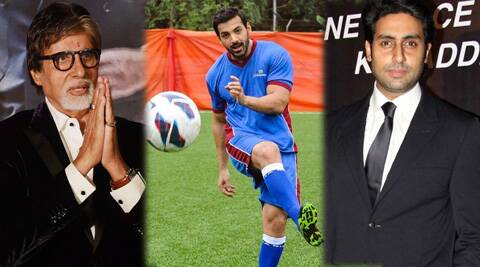 Actors like Big B, John Abraham, Abhishek are lending their star power to neglected games.