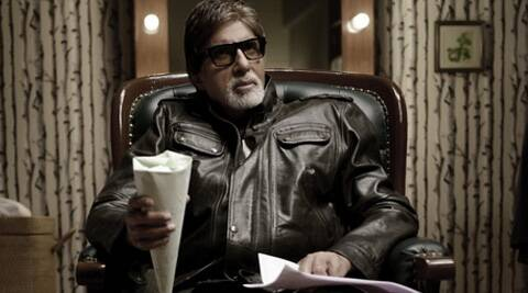 Amitabh Bachchan plays different roles, one being himself.