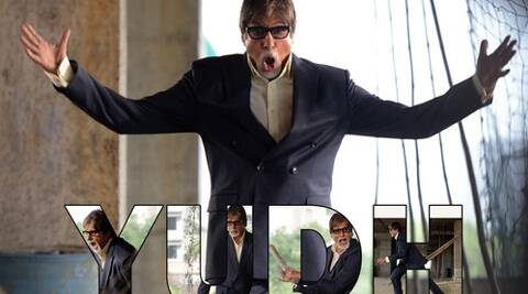 """Yudh"" is co-produced by Amitabh's production company Saraswati Creations."
