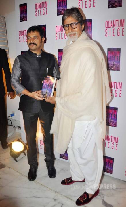 Amitabh Bachchan is book-ed