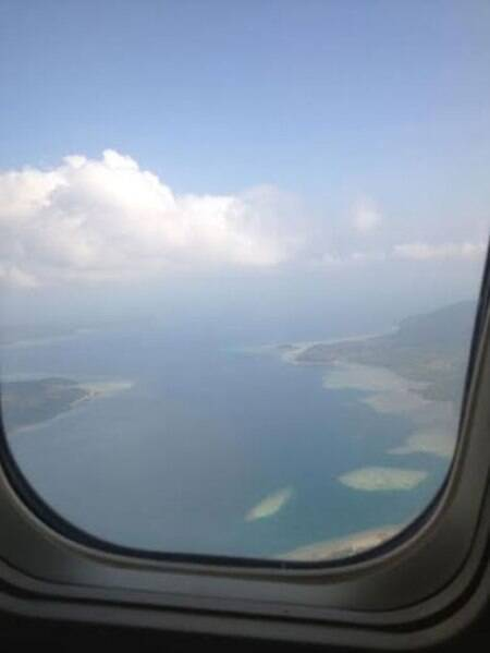 Bird-eye view of the Andaman Islands. (Source: Divya Goyal)