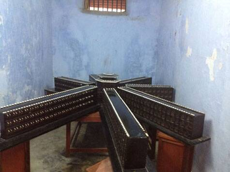 A model of the Cellular Jail. (Source: Divya Goyal)