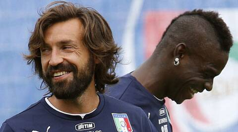 Italy's Andrea Pirlo, the playmaker, and Mario Balotelli,the striker, will have to complement each other. (Source: Reuters)