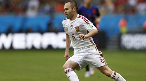 Andres Iniesta scored the winner for Spain in the 2010 tournament final to beat Netherlands 1-0. (Source: Reuters)