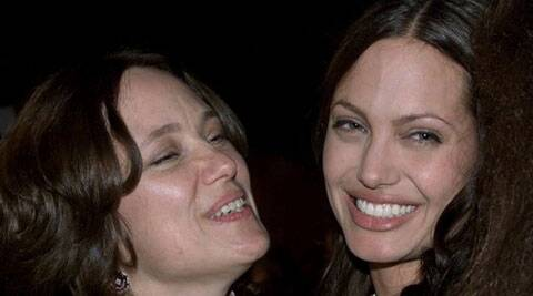 """""""It's hard to think I could be as good a mother as she was. Her whole life was motherhood,"""" Jolie said. (Reuters)"""