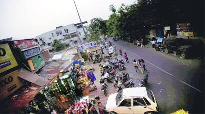 The area in Dilshad Garden where Anil Dutt Sharma lives. (Source: IE photo by Praveen Khanna)