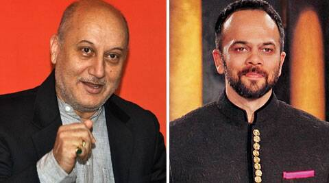 Anupam Kher, 59, is playing Ajay Devgn's guru in the thriller.